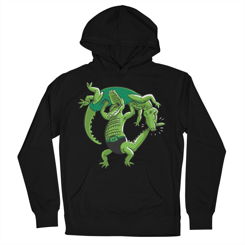 Alligator Wrestling Women's Pullover Hoody by Trulyfunky Shop @ Threadless!