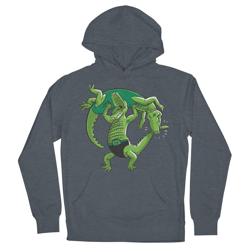 Alligator Wrestling Men's Pullover Hoody by Trulyfunky Shop @ Threadless!
