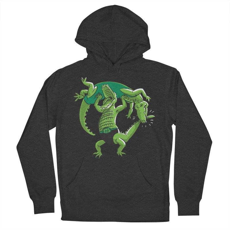 Alligator Wrestling Men's Pullover Hoody by Trulyfunky Shop @ Threadless!