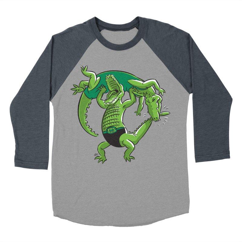 Alligator Wrestling Women's Baseball Triblend T-Shirt by Trulyfunky Shop @ Threadless!