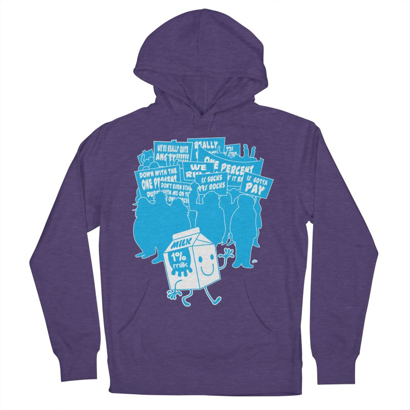 Bad News For Milk Men's Pullover Hoody by Trulyfunky Shop @ Threadless!