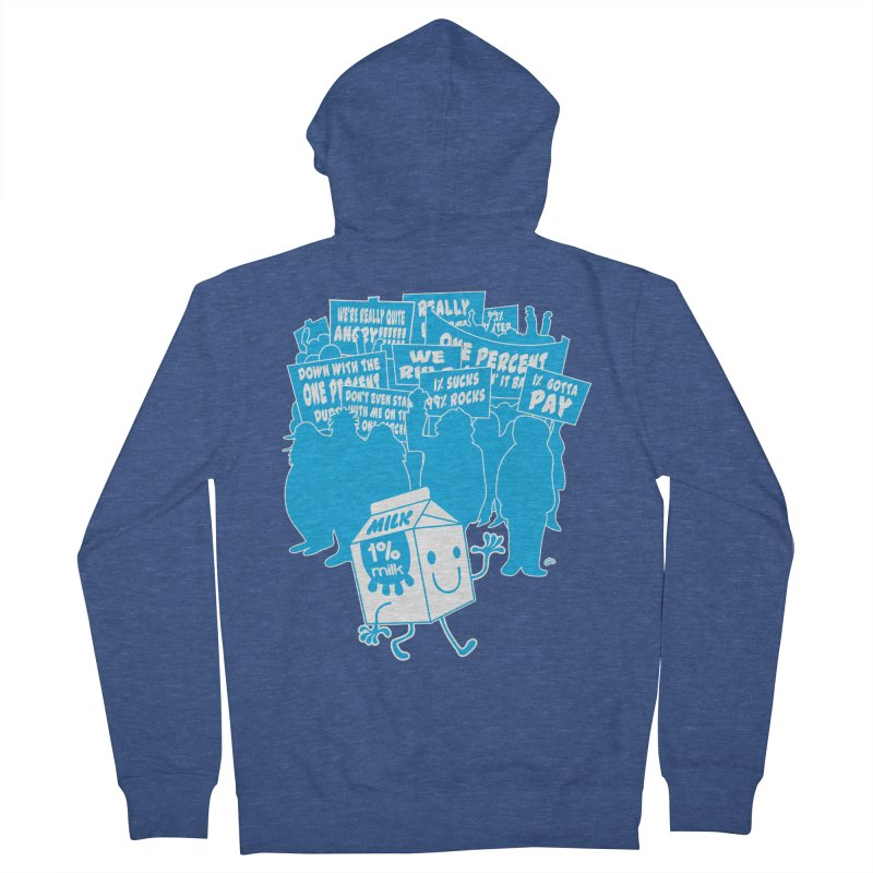 Bad News For Milk Women's Zip-Up Hoody by Trulyfunky Shop @ Threadless!