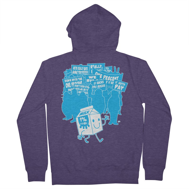 Bad News For Milk Men's Zip-Up Hoody by Trulyfunky Shop @ Threadless!