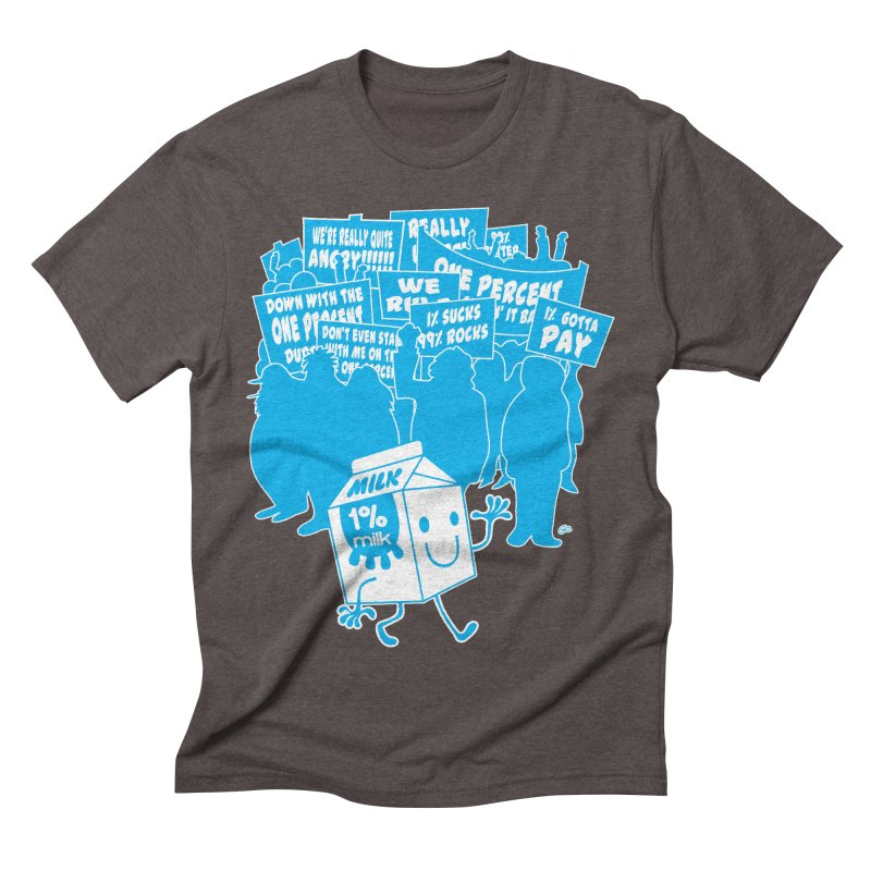 Bad News For Milk Men's Triblend T-shirt by Trulyfunky Shop @ Threadless!