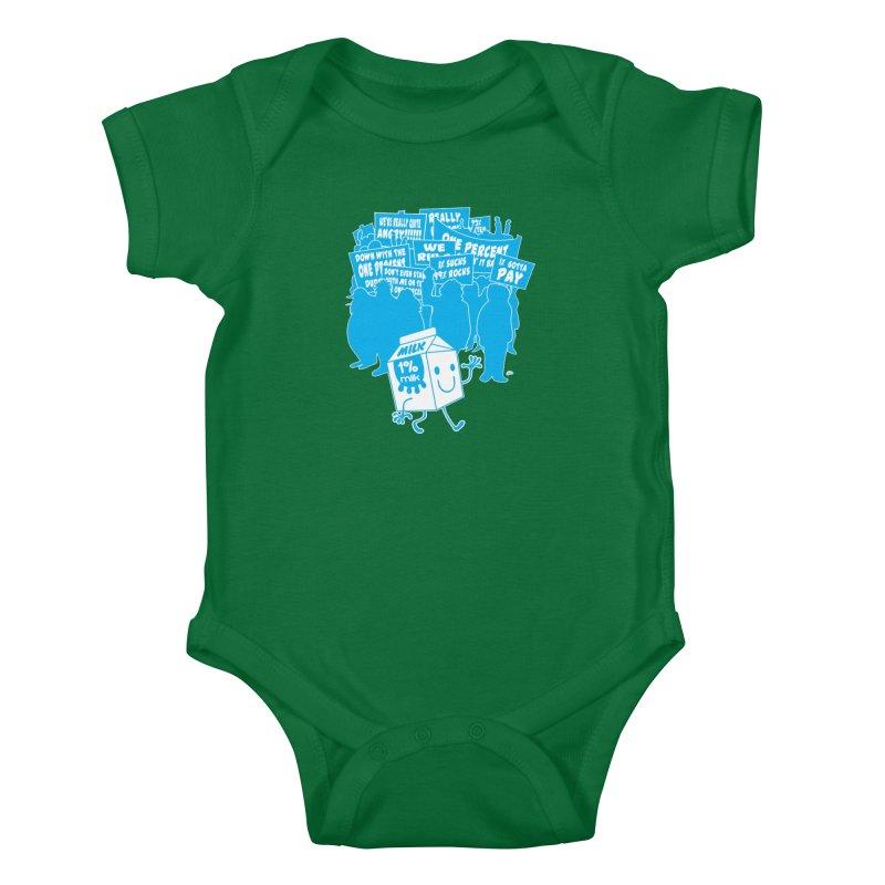 Bad News For Milk Kids Baby Bodysuit by Trulyfunky Shop @ Threadless!