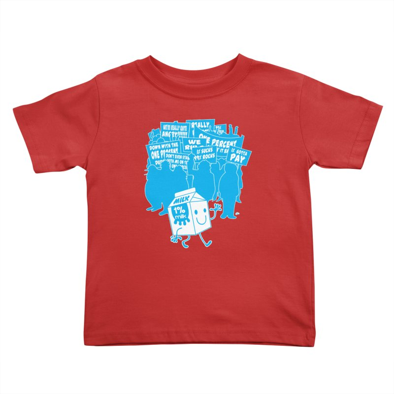 Bad News For Milk Kids Toddler T-Shirt by Trulyfunky Shop @ Threadless!