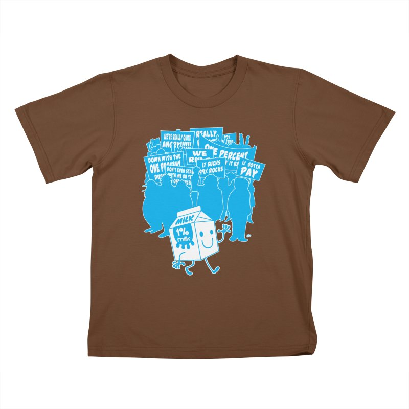 Bad News For Milk Kids T-shirt by Trulyfunky Shop @ Threadless!