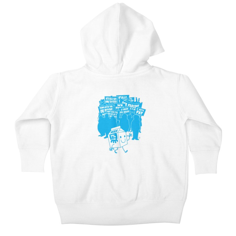 Bad News For Milk Kids Baby Zip-Up Hoody by Trulyfunky Shop @ Threadless!
