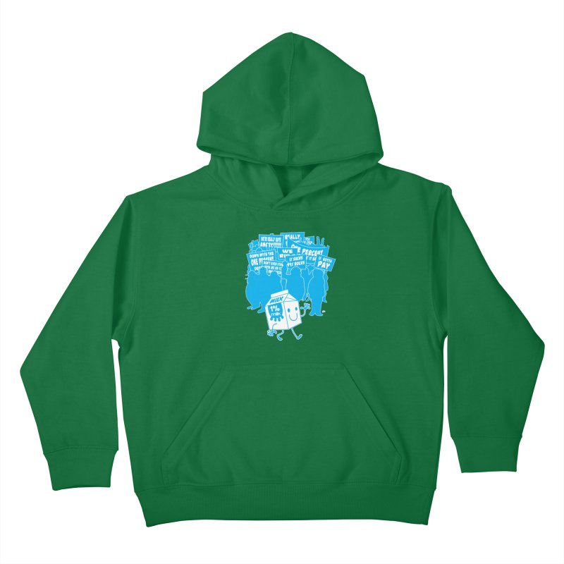 Bad News For Milk Kids Pullover Hoody by Trulyfunky Shop @ Threadless!