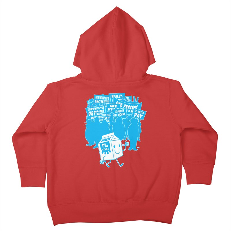 Bad News For Milk Kids Toddler Zip-Up Hoody by Trulyfunky Shop @ Threadless!