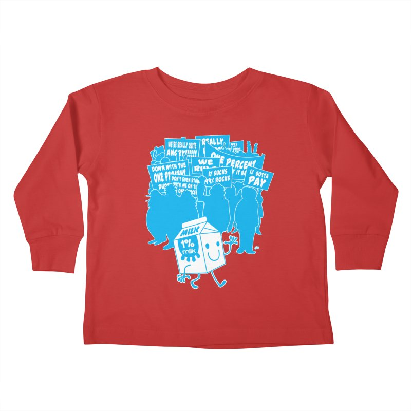 Bad News For Milk Kids Toddler Longsleeve T-Shirt by Trulyfunky Shop @ Threadless!