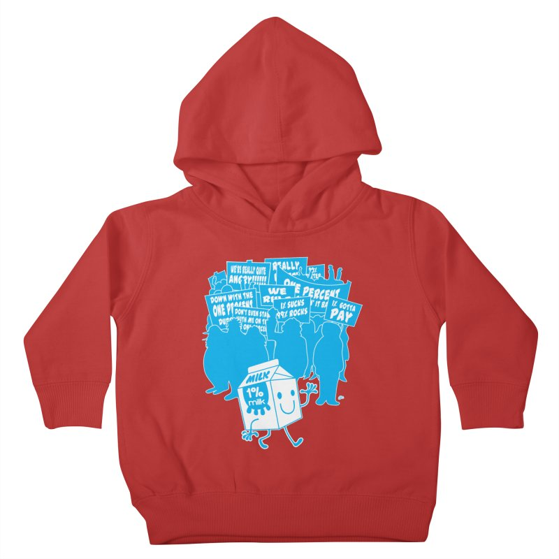 Bad News For Milk Kids Toddler Pullover Hoody by Trulyfunky Shop @ Threadless!
