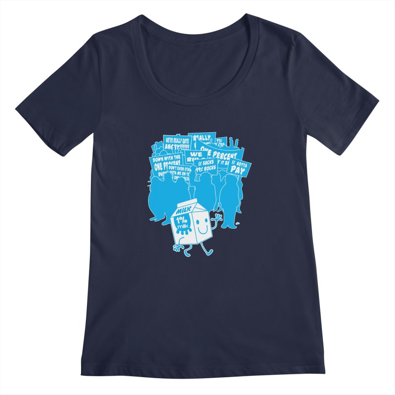 Bad News For Milk Women's Scoopneck by Trulyfunky Shop @ Threadless!