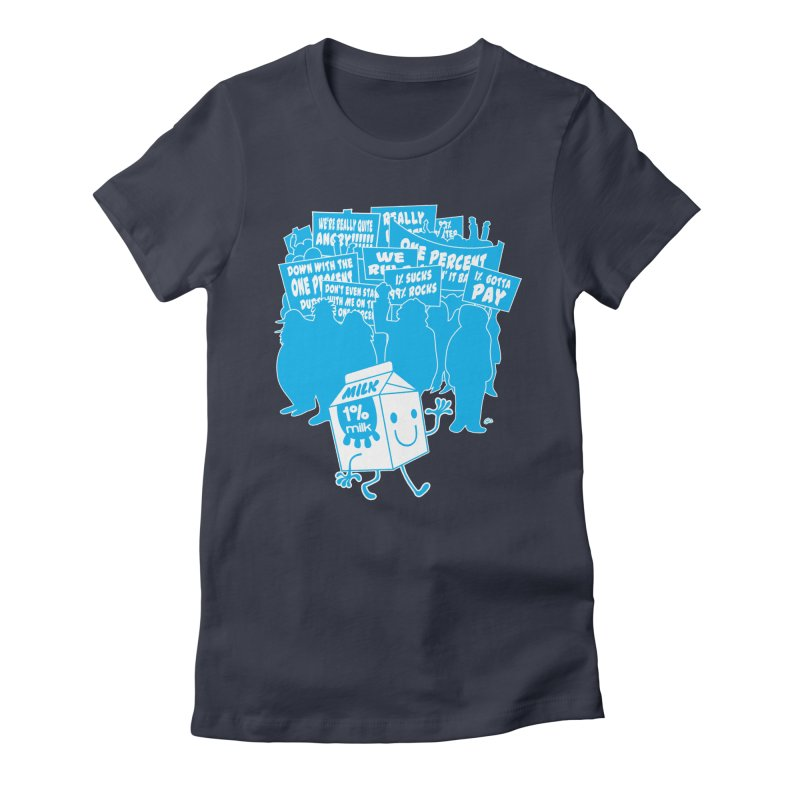 Bad News For Milk Women's Fitted T-Shirt by Trulyfunky Shop @ Threadless!