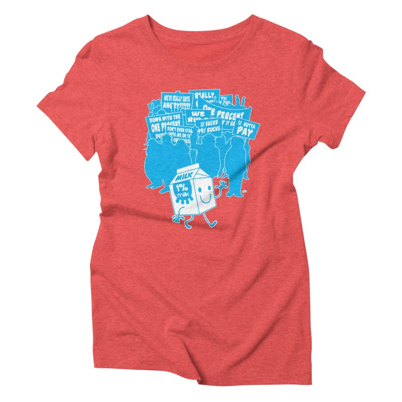 Bad News For Milk Women's Triblend T-Shirt by Trulyfunky Shop @ Threadless!