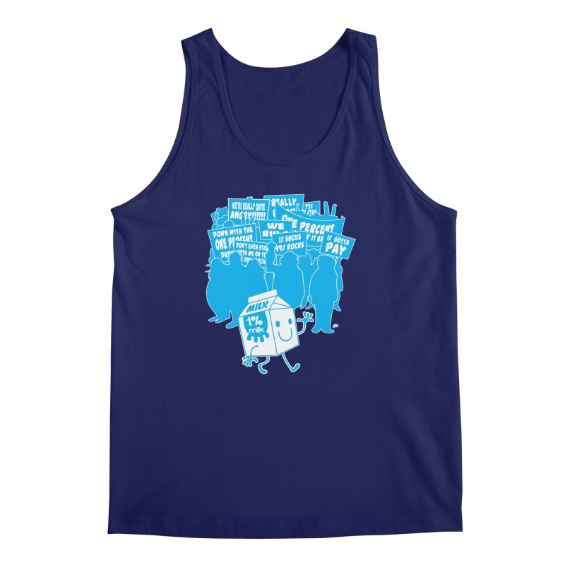 Bad News For Milk Men's Tank by Trulyfunky Shop @ Threadless!