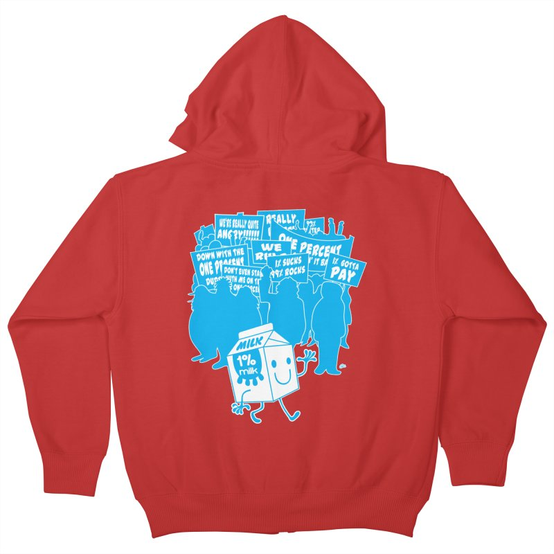 Bad News For Milk Kids Zip-Up Hoody by Trulyfunky Shop @ Threadless!