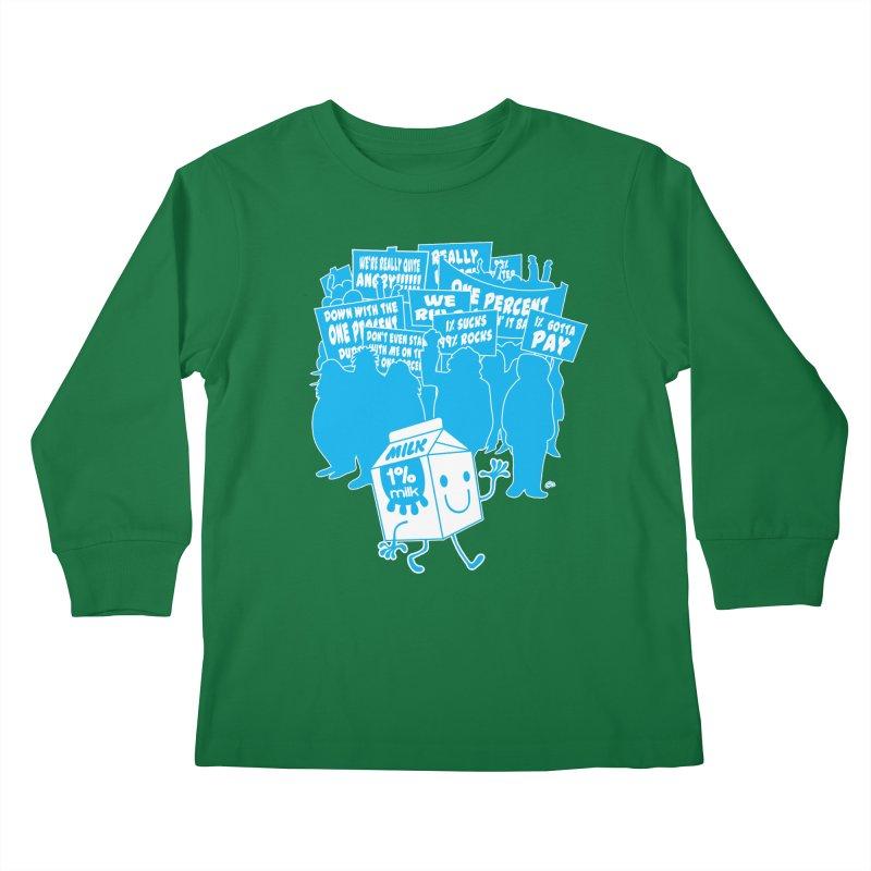 Bad News For Milk Kids Longsleeve T-Shirt by Trulyfunky Shop @ Threadless!
