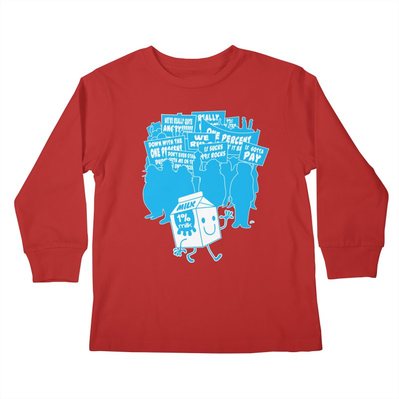 Bad News For Milk Kids Longsleeve T-Shirt by Trulyfunky Shop @ Threadless!