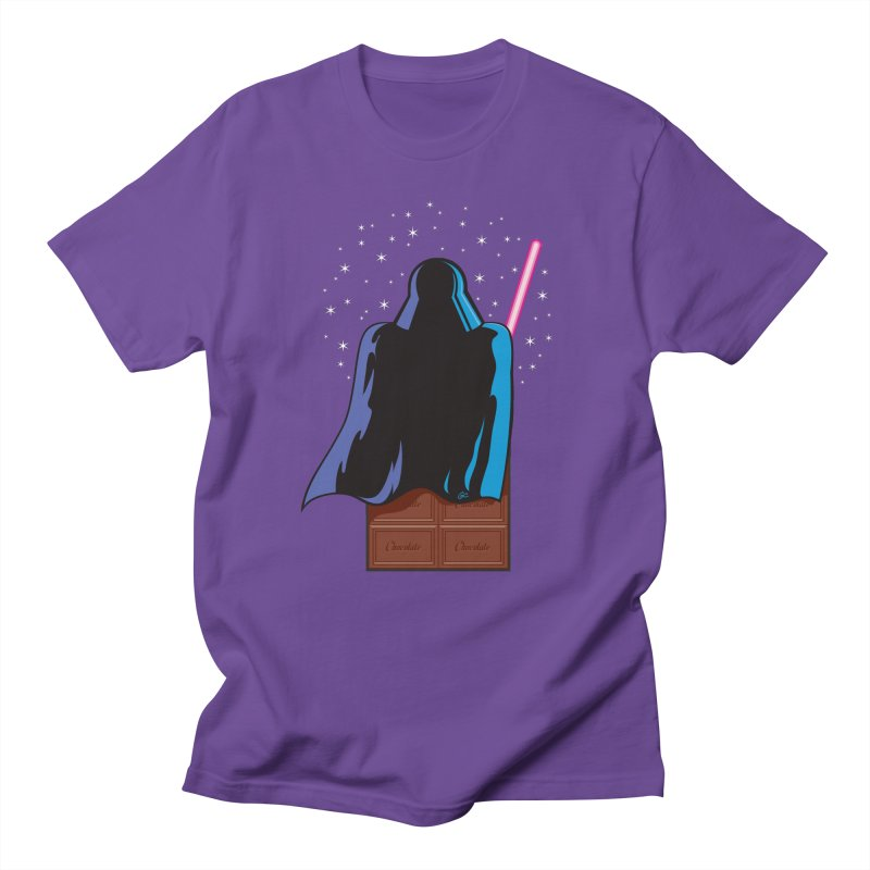 Dark Chocolate in Men's T-Shirt Purple by Trulyfunky Shop @ Threadless!
