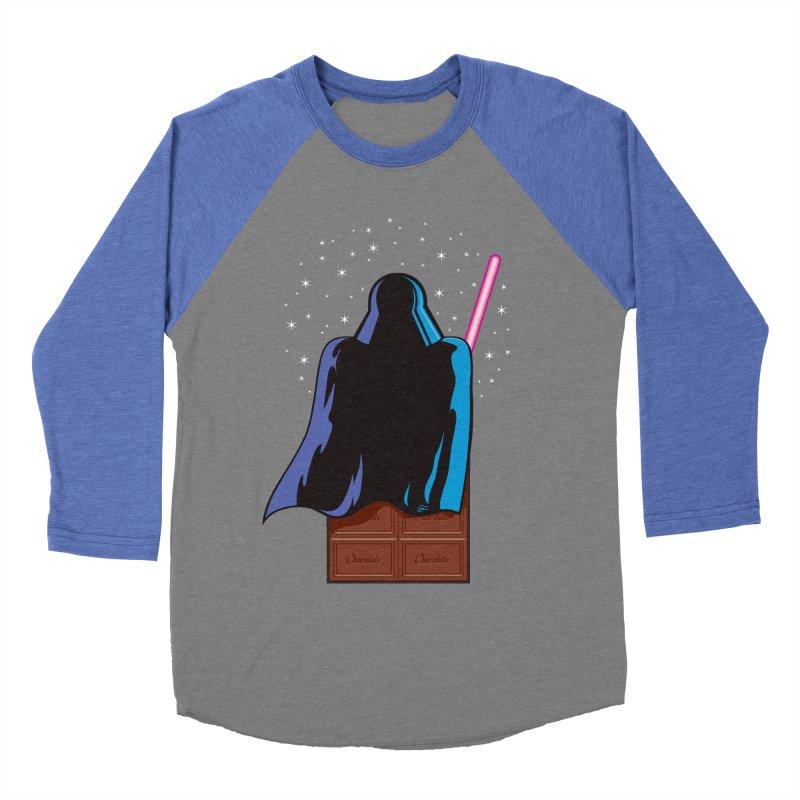 Dark Chocolate Men's Baseball Triblend T-Shirt by Trulyfunky Shop @ Threadless!