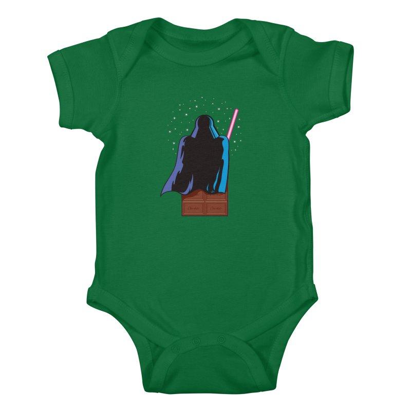 Dark Chocolate Kids Baby Bodysuit by Trulyfunky Shop @ Threadless!