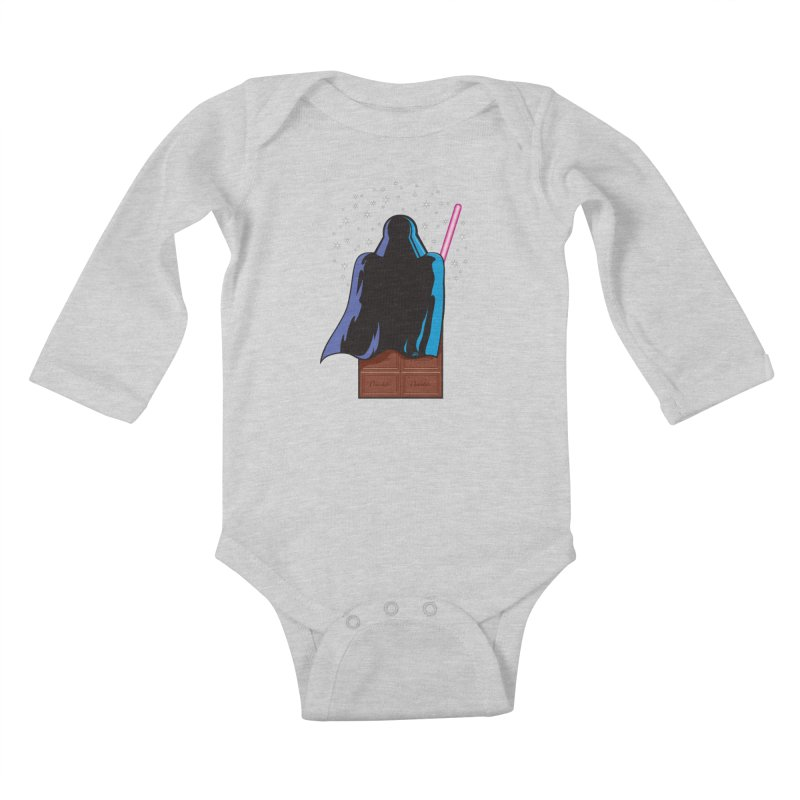 Dark Chocolate Kids Baby Longsleeve Bodysuit by Trulyfunky Shop @ Threadless!