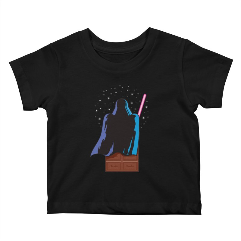 Dark Chocolate Kids Baby T-Shirt by Trulyfunky Shop @ Threadless!