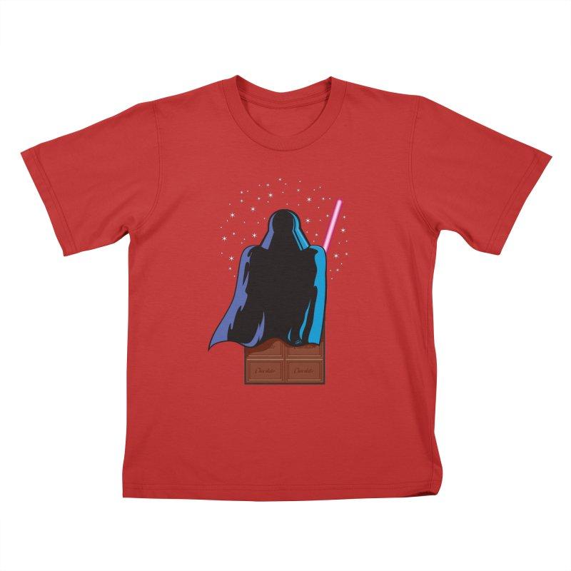 Dark Chocolate Kids T-shirt by Trulyfunky Shop @ Threadless!