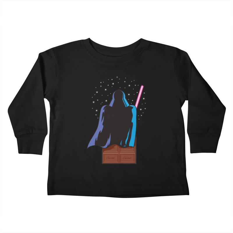 Dark Chocolate Kids Toddler Longsleeve T-Shirt by Trulyfunky Shop @ Threadless!