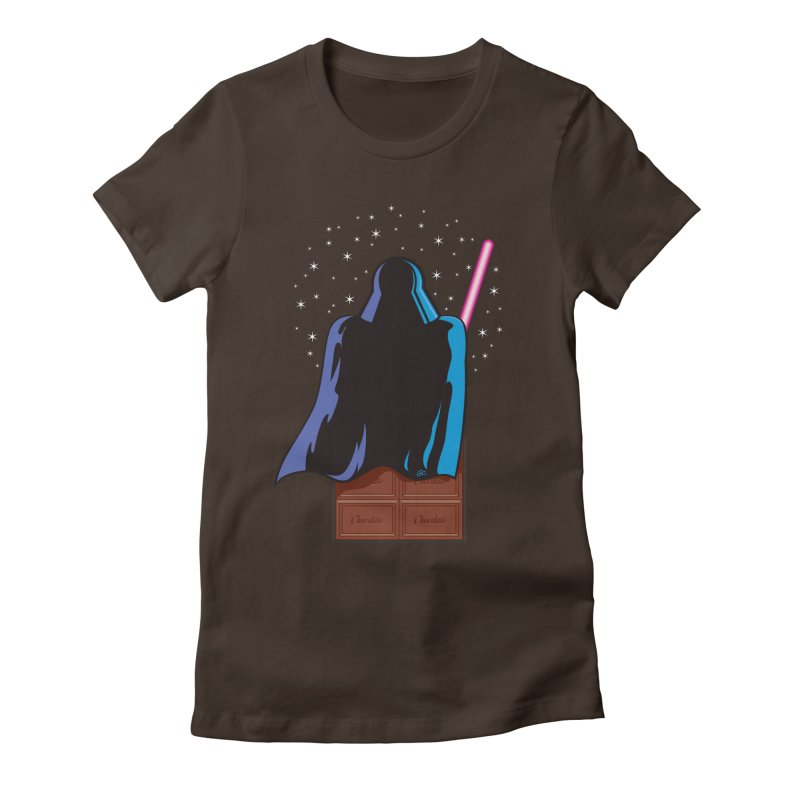 Dark Chocolate in Women's Fitted T-Shirt Chocolate by Trulyfunky Shop @ Threadless!