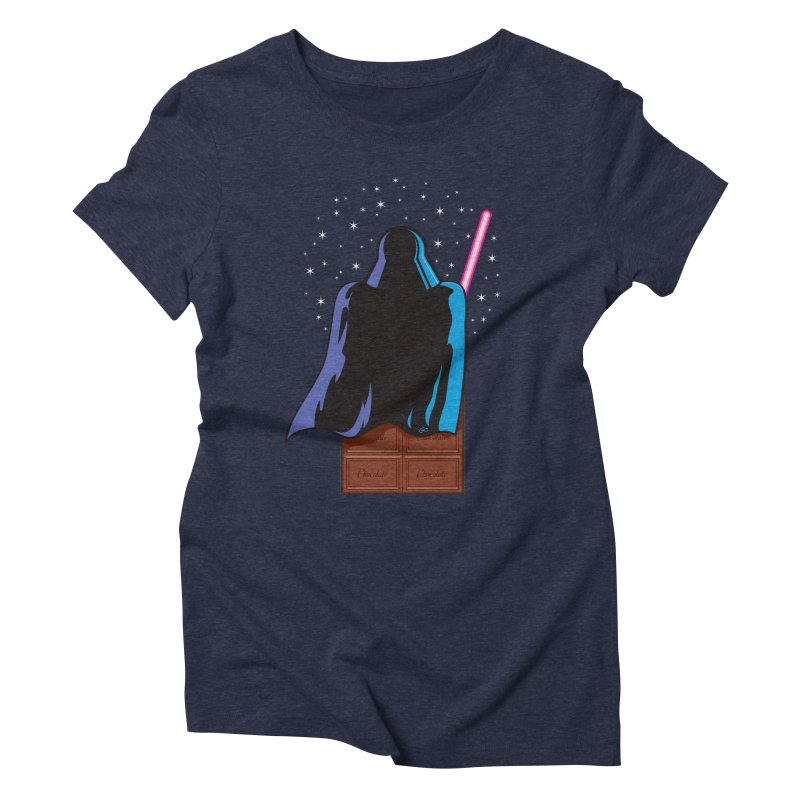 Dark Chocolate Women's Triblend T-shirt by Trulyfunky Shop @ Threadless!