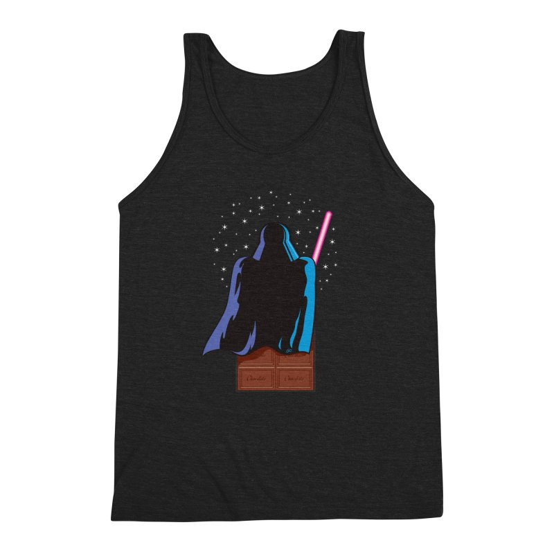 Dark Chocolate Men's Triblend Tank by Trulyfunky Shop @ Threadless!