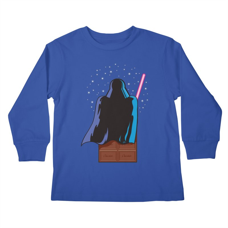 Dark Chocolate Kids Longsleeve T-Shirt by Trulyfunky Shop @ Threadless!