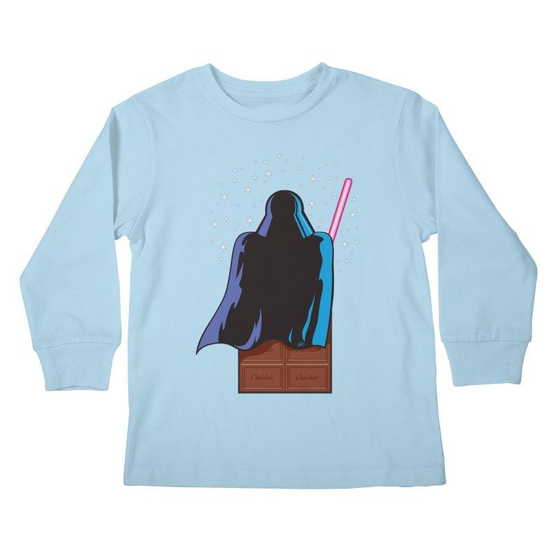 Dark Chocolate Kids Longsleeve T-Shirt by Trulyfunky Shop @ Threadless!