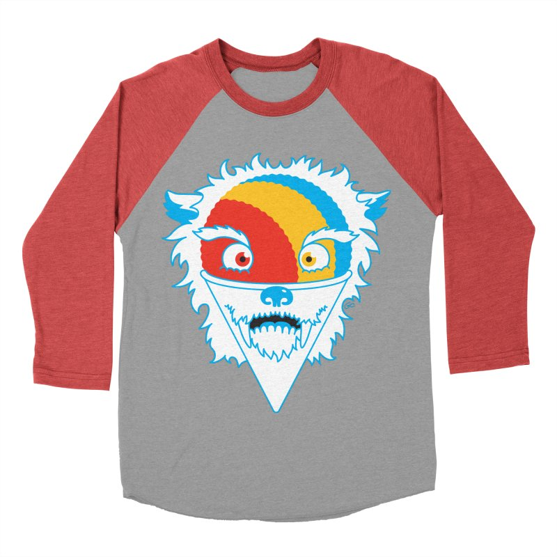 The Abominable Snow-Cone Men's Baseball Triblend T-Shirt by Trulyfunky Shop @ Threadless!