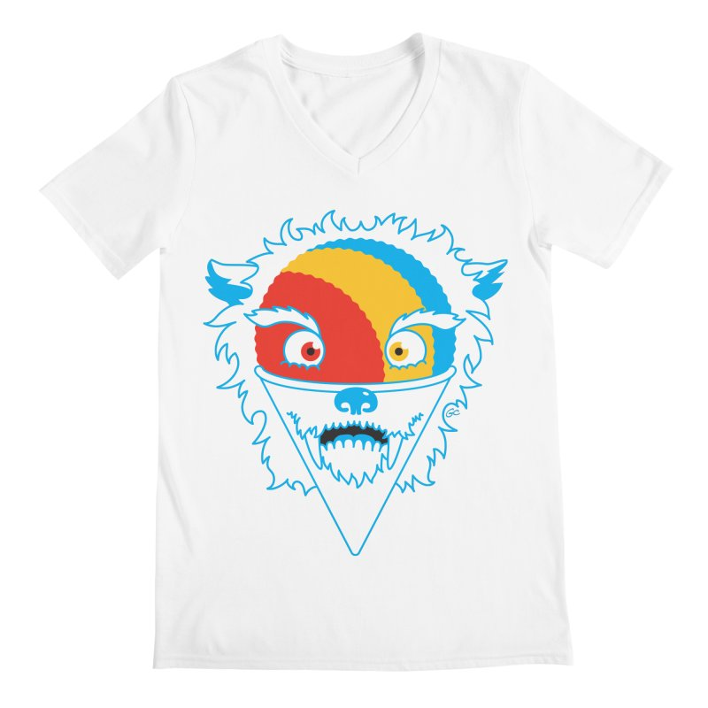 The Abominable Snow-Cone Men's V-Neck by Trulyfunky Shop @ Threadless!