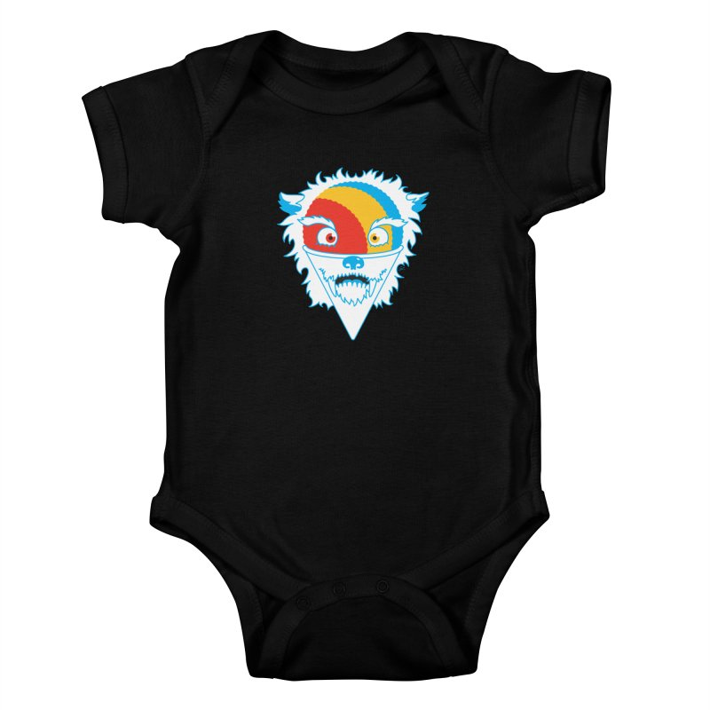 The Abominable Snow-Cone Kids Baby Bodysuit by Trulyfunky Shop @ Threadless!