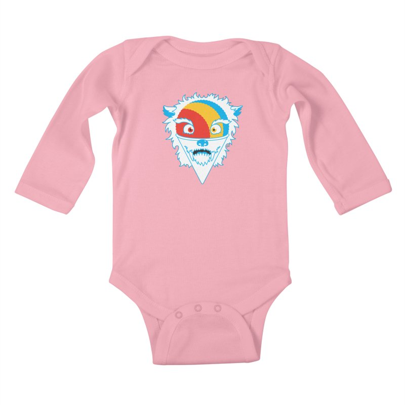 The Abominable Snow-Cone Kids Baby Longsleeve Bodysuit by Trulyfunky Shop @ Threadless!