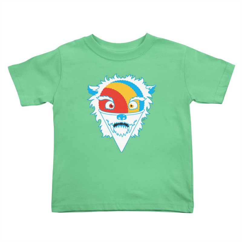 The Abominable Snow-Cone Kids Toddler T-Shirt by Trulyfunky Shop @ Threadless!