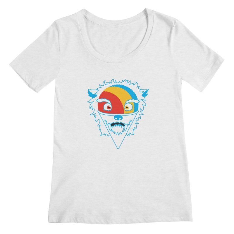 The Abominable Snow-Cone Women's Scoopneck by Trulyfunky Shop @ Threadless!