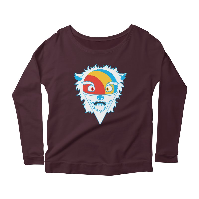 The Abominable Snow-Cone Women's Longsleeve Scoopneck  by Trulyfunky Shop @ Threadless!