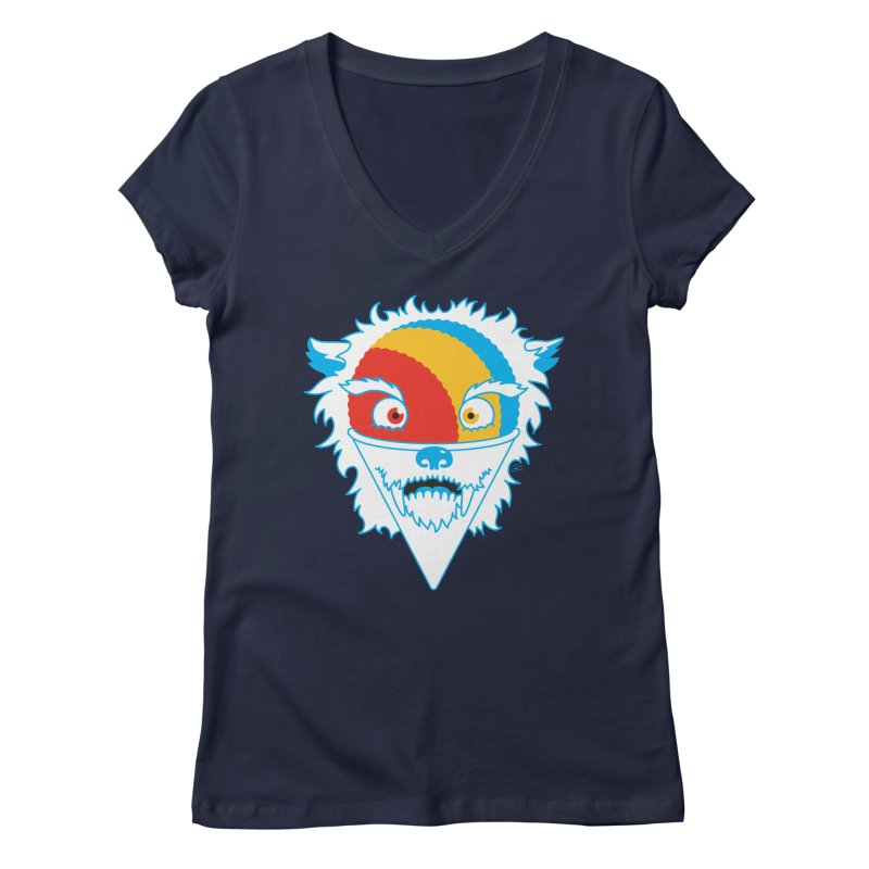 The Abominable Snow-Cone Women's V-Neck by Trulyfunky Shop @ Threadless!