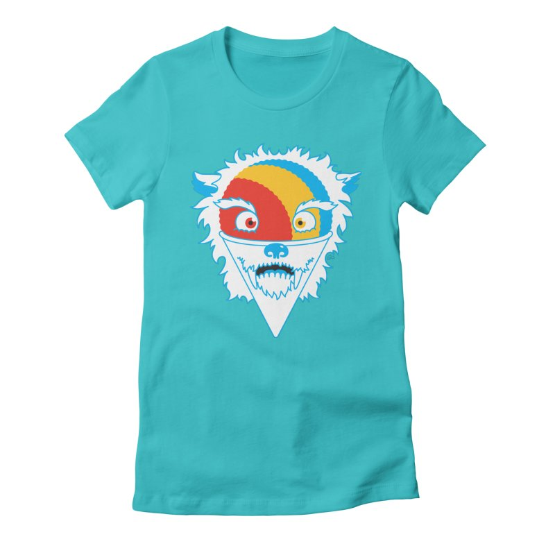 The Abominable Snow-Cone Women's Fitted T-Shirt by Trulyfunky Shop @ Threadless!