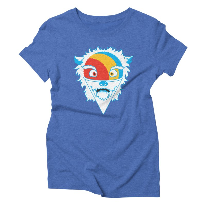 The Abominable Snow-Cone Women's Triblend T-shirt by Trulyfunky Shop @ Threadless!