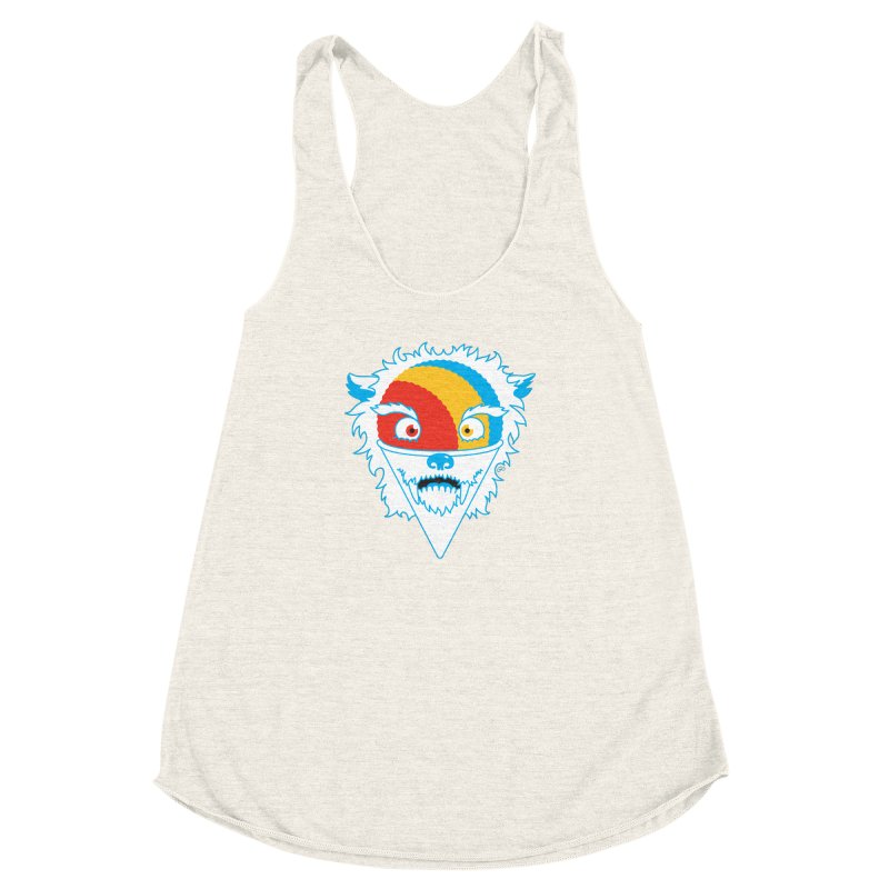 The Abominable Snow-Cone Women's Racerback Triblend Tank by Trulyfunky Shop @ Threadless!