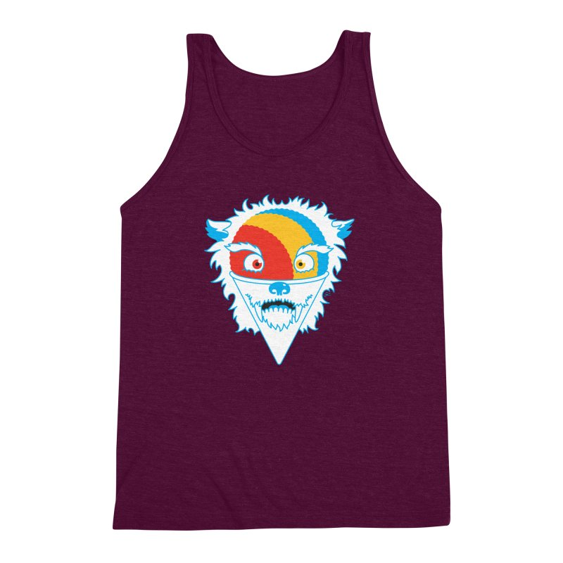 The Abominable Snow-Cone Men's Triblend Tank by Trulyfunky Shop @ Threadless!