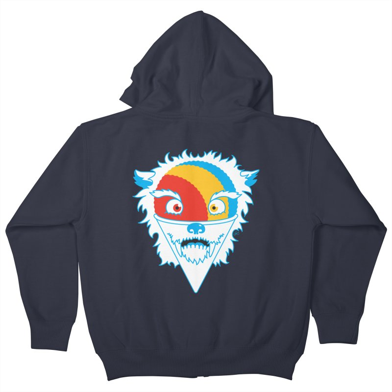 The Abominable Snow-Cone Kids Zip-Up Hoody by Trulyfunky Shop @ Threadless!