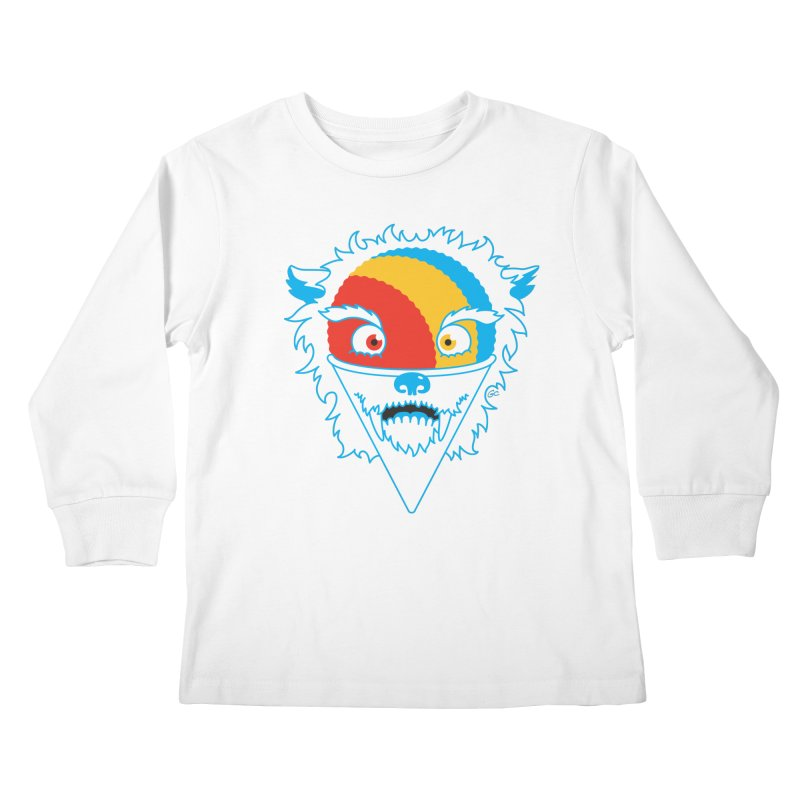 The Abominable Snow-Cone Kids Longsleeve T-Shirt by Trulyfunky Shop @ Threadless!