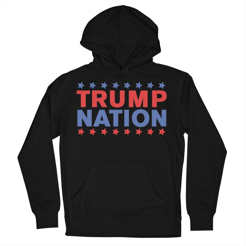 Trump Nation Men's French Terry Pullover Hoody by Trump Nation